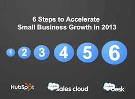Free Webinar: 6 Steps to Accelerate Small Business Growth in 2013