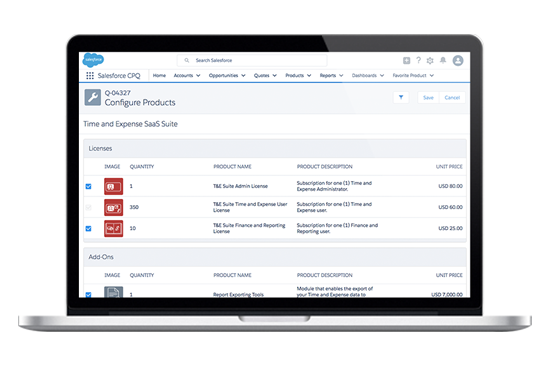 Watch the Salesforce CPQ demo