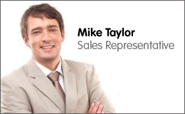 Mike Taylor, Sales Rep