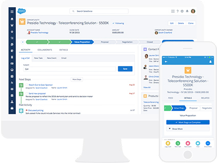 Salesforce Lightning guided tour