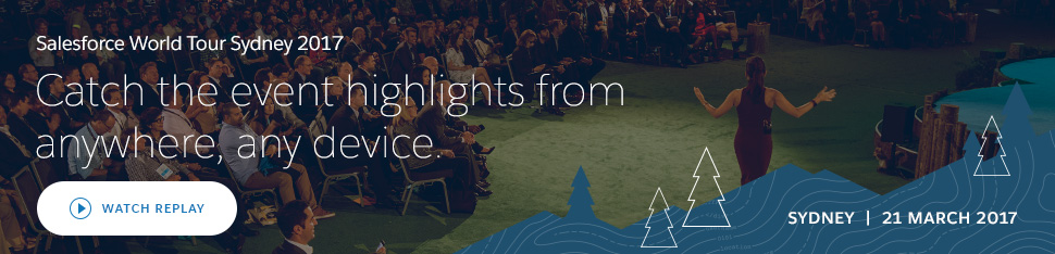 Salesforce World Tour Melbourne 2016