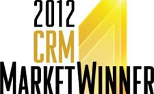 Gagnante du marché des CRM en 2012