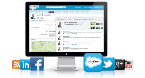 Social Accounts & Contacts demo