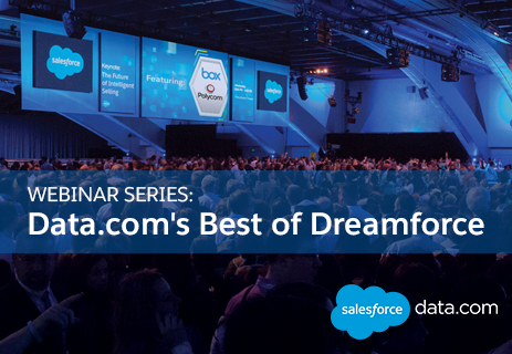 Data.com Best of Dreamforce