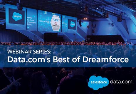 Data.com Best of Dreamforce