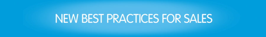 New best practices for sales