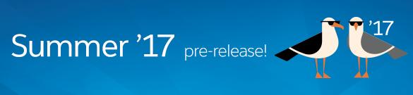 Summer'17 pre-release