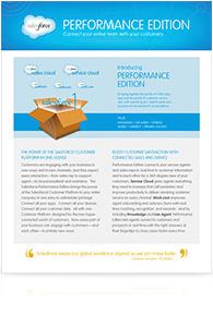 Performance Edition datasheet