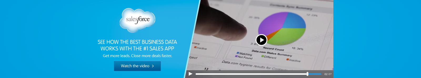 See how the best business data works with the #1 Sales App