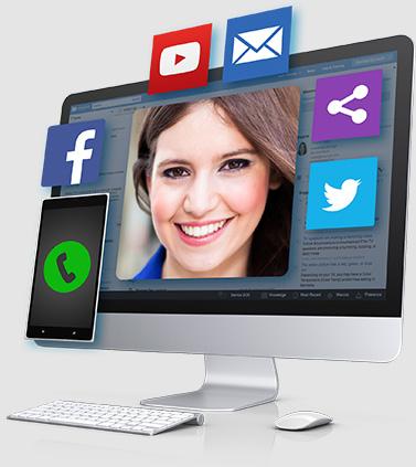 Social CRM iMac