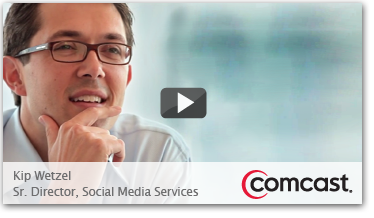 See how Comcast uses the power of social media to pro-actively deliver service and turn customers into brand advocates.