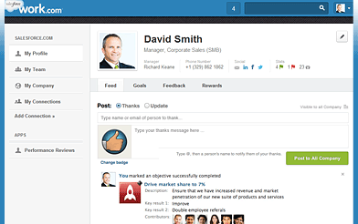 Salesforce Work.com demo