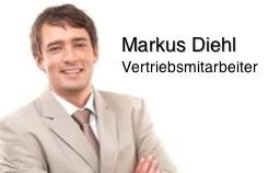 Markus Diehl, Vertriebsmitarbeiter