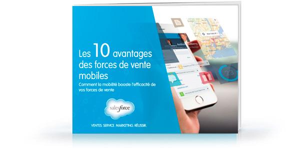 E-book «Les 10avantages des forces de vente mobiles»