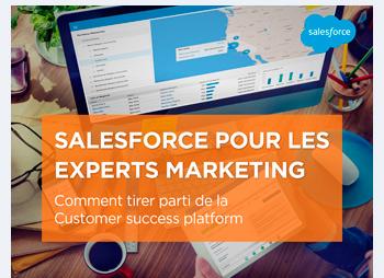 Salesforce pour les experts marketing