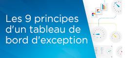 Les 9 principes d'un tableau de bord d'exception