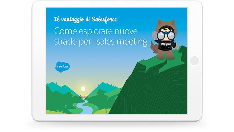 In che modo Salesforce ti aiuta a trovare nuove strade per il successo commerciale