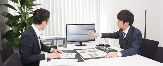 専任のプライベートFP が最適な資産運用プランを提案