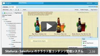 Siteforce - Salesforce のクラウド型コンテンツ管理システム