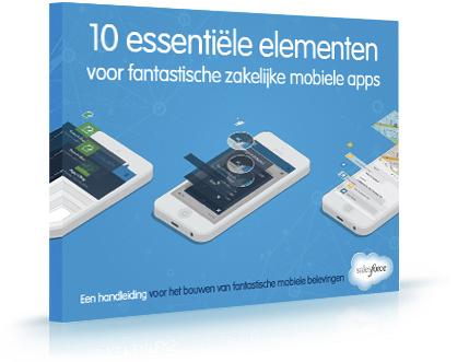 10 essentiële elementen voor fantastische zakelijke mobiele apps