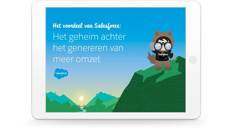 Hoe Salesforce je helpt nieuwe wegen te vinden naar verkoopsucces