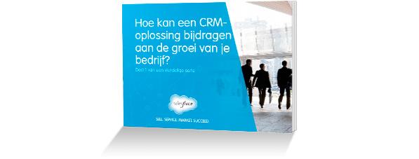 E-book: Hoe kan een CRM-oplossing bijdragen aan de groei van je bedrijf?