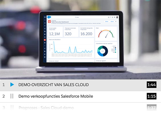 Sales Cloud demo