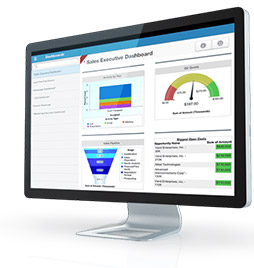 immagine del dashboard di salescloud