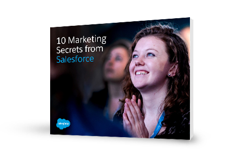 10 Marketing Secrets form Salesforce e-book