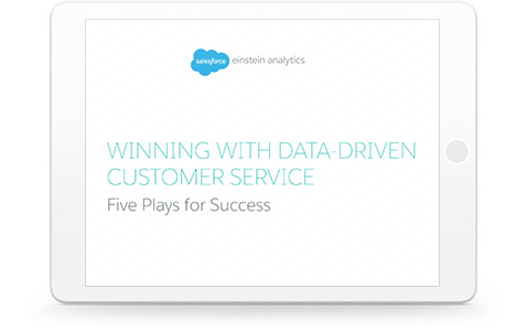 Winning with Data Driven Customer Service: Five Plays for Success