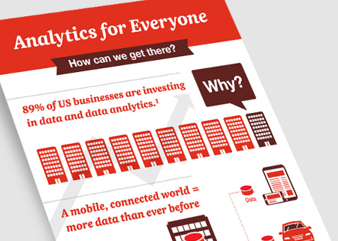 Infographic: Analytics for everyone
