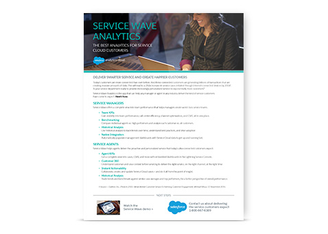 5 Service Wave Analytics Overview