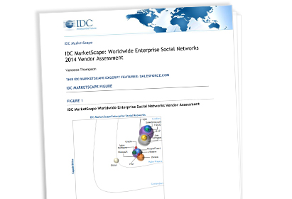 $(key.brand.communities}: Enterprise Social Networks 2014 Vendor Assessment whitepaper