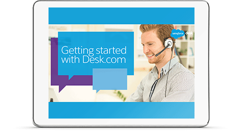 Getting Started with Desk.com e-book cover