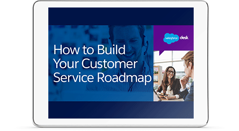 How to Build Your Customer Service Roadmape e-book cover