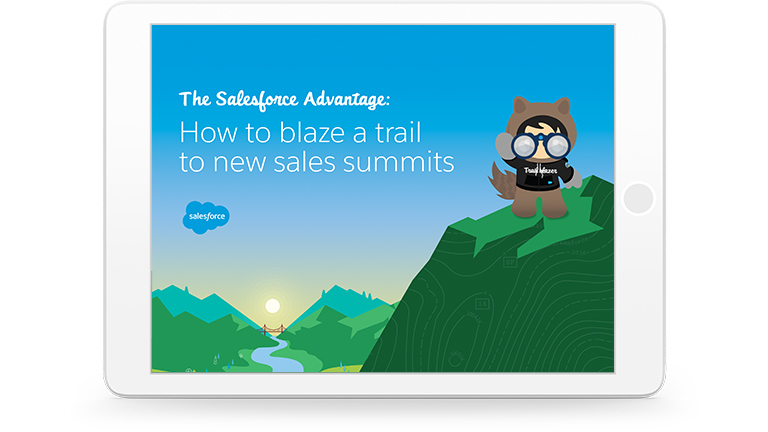 How Salesforce helps you find new paths to sales success