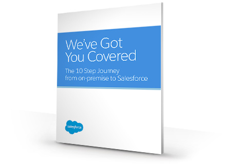10-Step Journey from on-premise to Salesforce