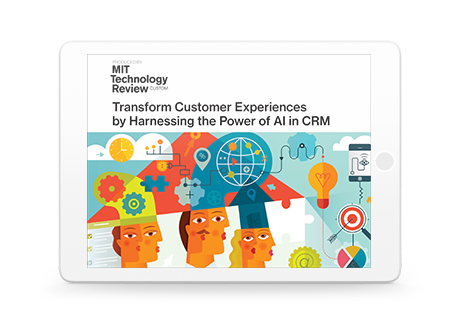 AI Meets CRM: An MIT Tech Review Whitepaper
