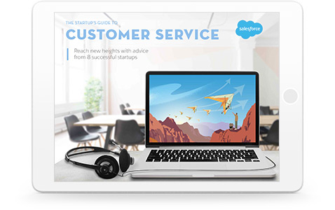 The startup's guide to customer service e-book