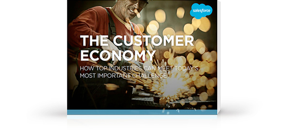 Livre électronique « The Customer Economy: How Top Industries Can Meet Today's Most Important Challenge