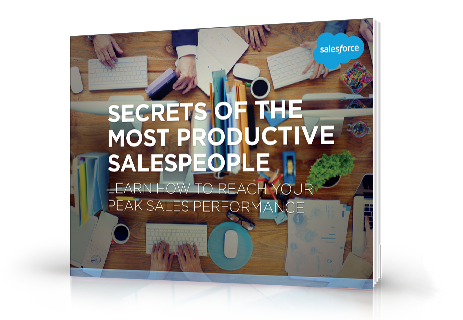 Secrets of the Most Productive Salespeople e-book