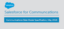 Communications Data Model Specification