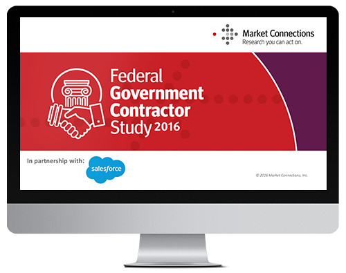 2016 Federal Government Contractor Study