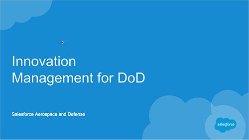 Innovation Management Development Webinar