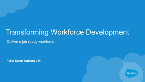 Salesforce Workforce Development Webinar
