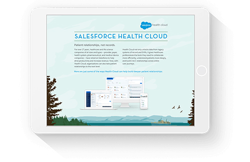 Salesforce Health Cloud Datasheet