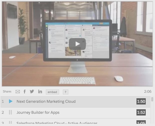 Salesforce Marketing Cloud Social Studio demo