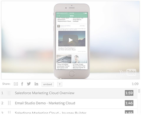 Salesforce Marketing Cloud Ad Studio demo