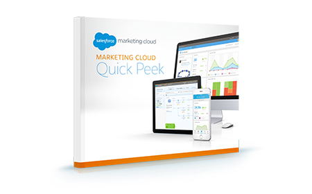Marketing Cloud Quick Peek