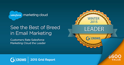 G2Crowd Grid for Email Marketing — Winter 2015